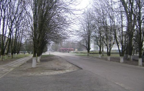 Дороги ул. Октябрьская
