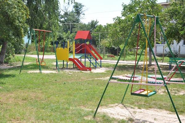 Детская площадка, ул. Солнечная