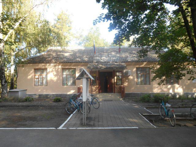 (1) Здание администрации Коржевского сельского поселения