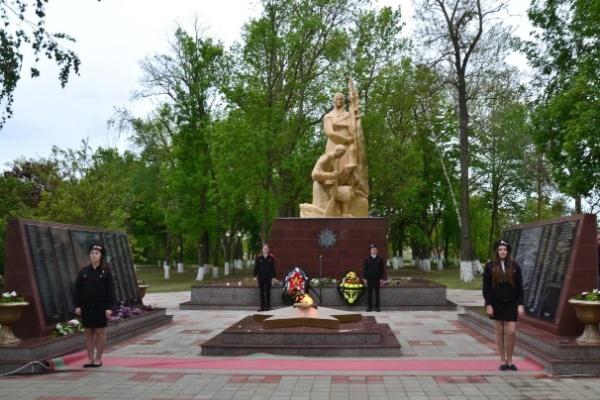 Парк Памяти. Мемориальный комплекс в х. Коржевском, ул. Садовая