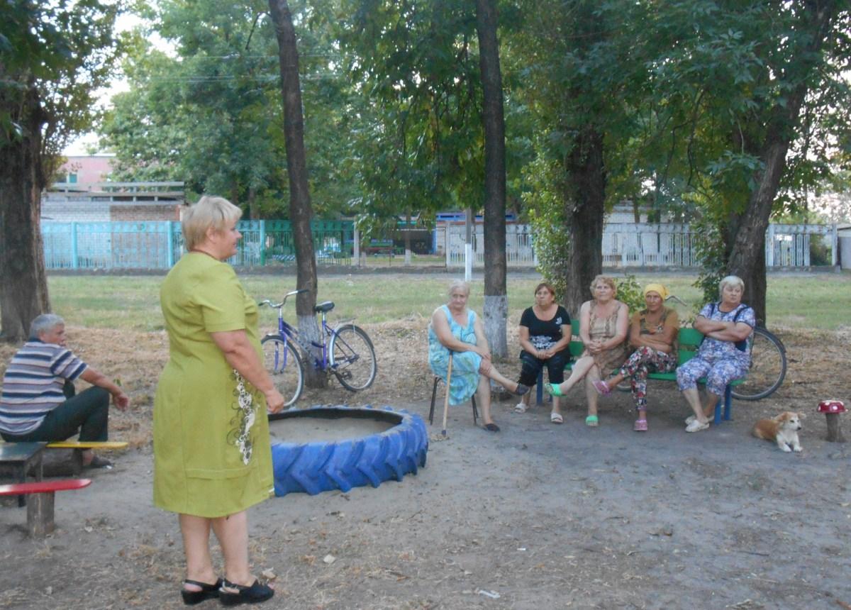Сход ул. Советская