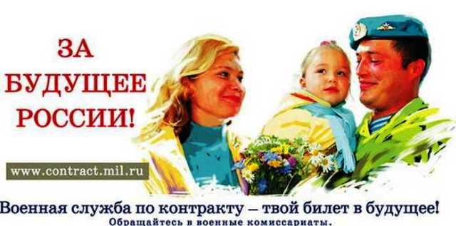 Сcылка на сайт www.contract.mil.ru
